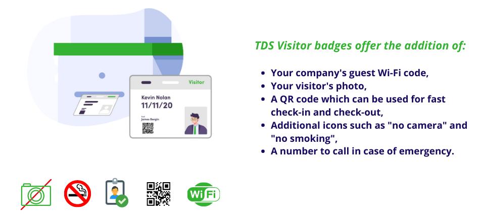 TDS Visitor Budge