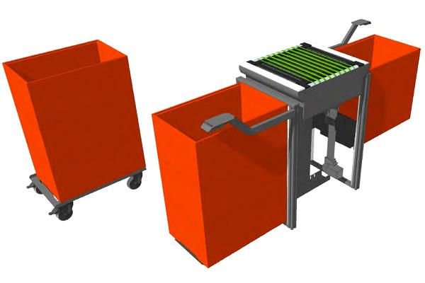 Tote-box-stacking-module